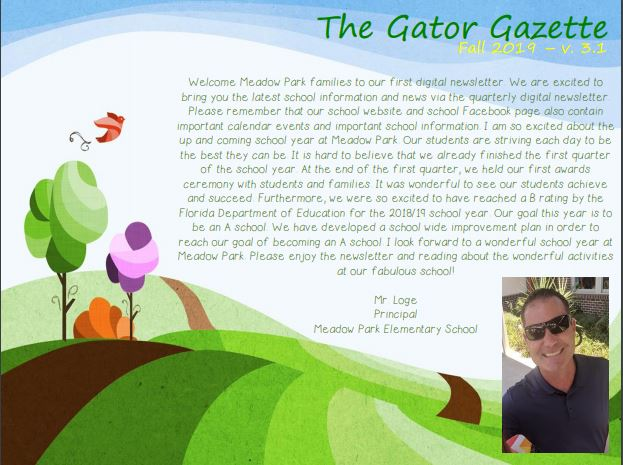 Gator Gazette November 2019