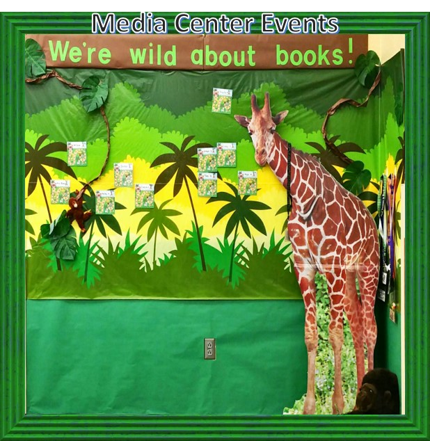 Jungle with Giraffe