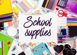 Back to School - Grade Level Supply Lists