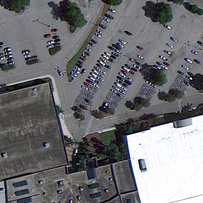 Aerial View of the School & Community Relations Office