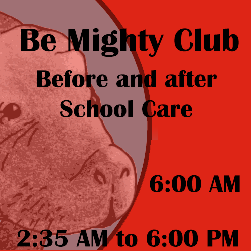 Be Mighty Club, before and after school care.