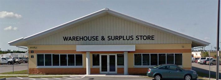 Surplus Store Front Entrance