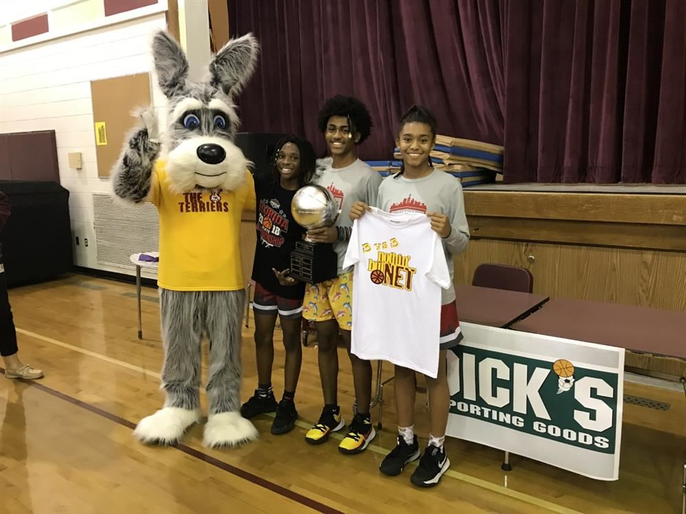 Thanks to Dick's Sporting Goods for supporting the 3v3 Student Basketball Tournament