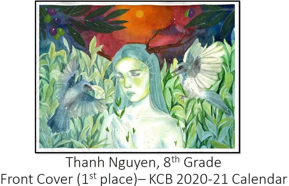 Congratulations to PCMS Art Students who competed in Keep Charlotte Beautiful (2020-2021 Calendar) .  These talented young artists captured all of the Middle School awards this year! Take a preview peek at their soon-to-be-published artwork (click here)