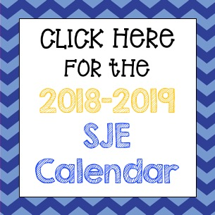 Click here to access the 2018-2019 SJE Calendar