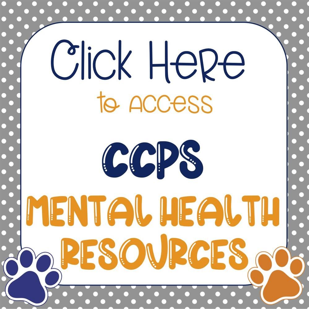 CCPS Mental Health Resources