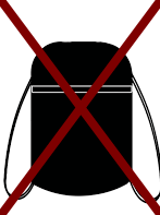 no string backpacks