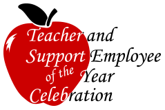 Teacher of the year logo
