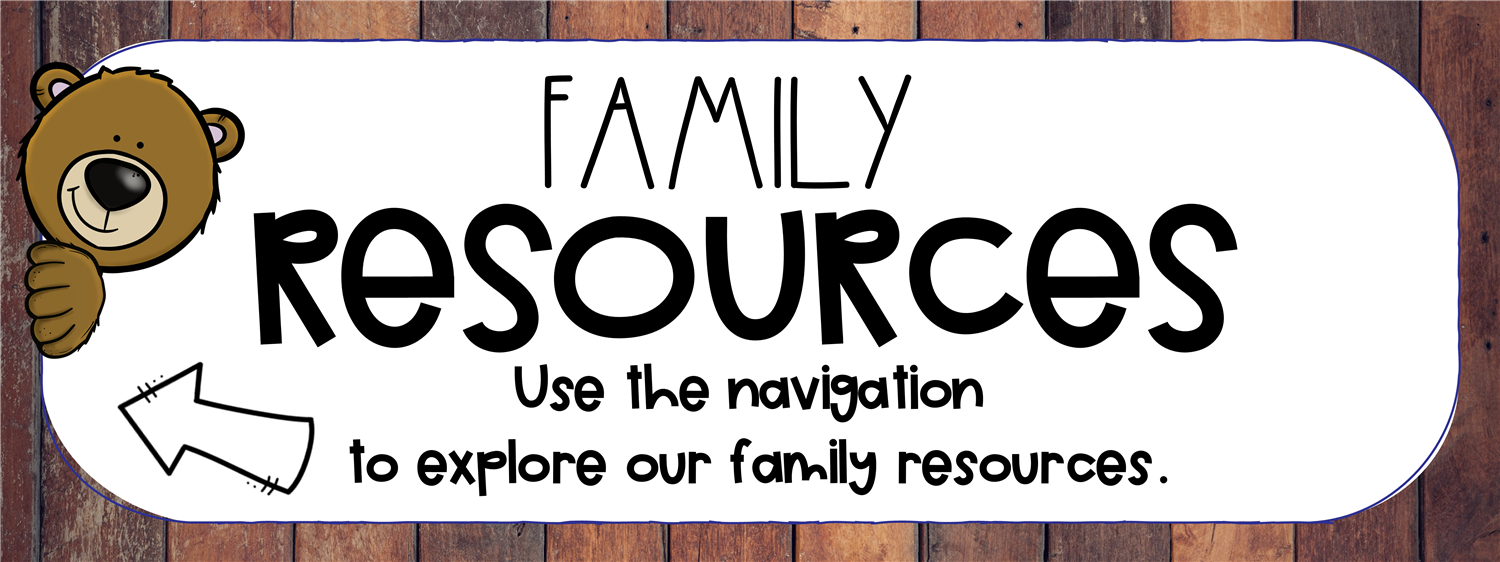 Use navigation to explore family resources
