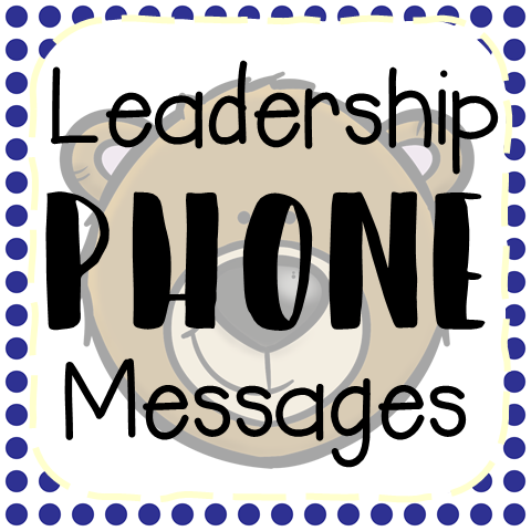 Leadership Phone Messages