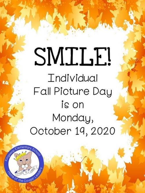 Fall pictures are 10/19/2020.