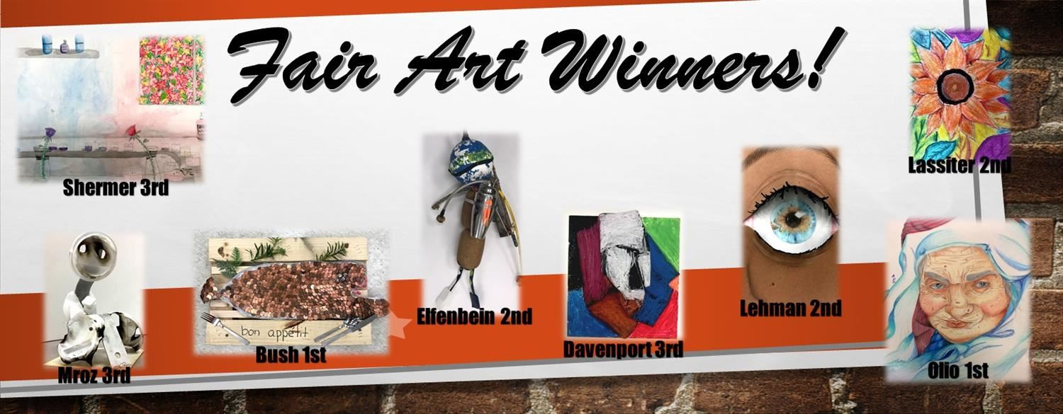 Fair Art Winners Picture