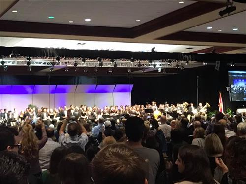 The All State Band Performance at the Tampa Convention Center